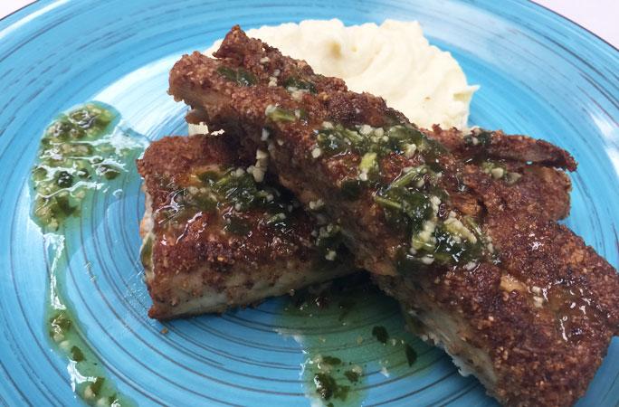 browned butter mahi