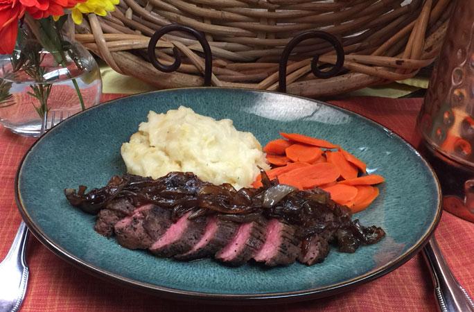 Java Rubbed Steak
