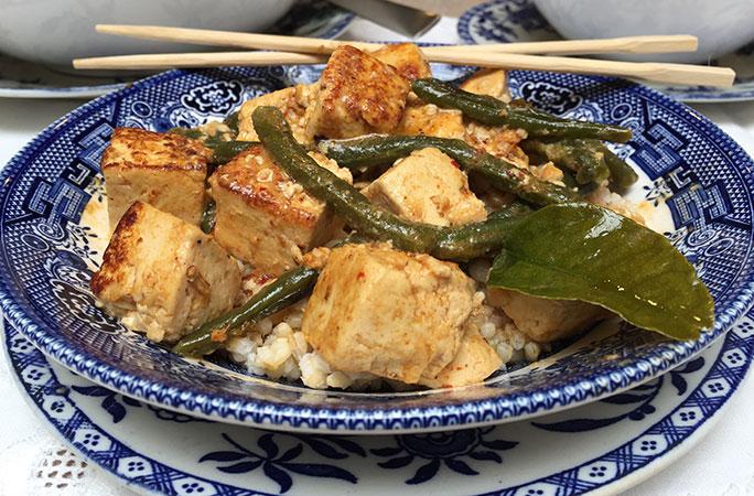 Prik Khing Tofu
